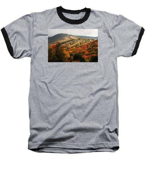 Fall Foliage On Canon Mountain Nh Baseball T-Shirt