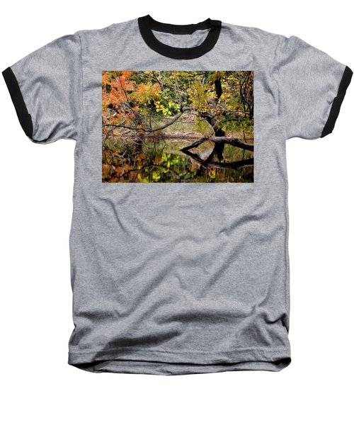 Fall From The Water Baseball T-Shirt