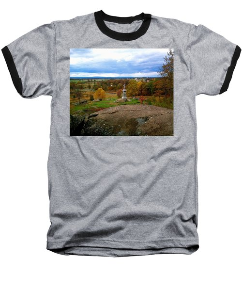 Baseball T-Shirt featuring the photograph Fall In Gettysburg by Amazing Photographs AKA Christian Wilson
