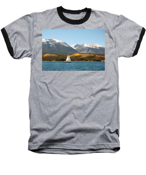 Fall In The Rockies Baseball T-Shirt