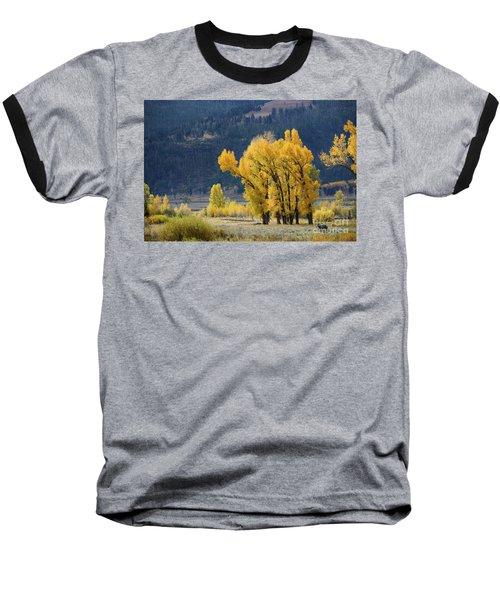 Fall In Yellowstone Baseball T-Shirt