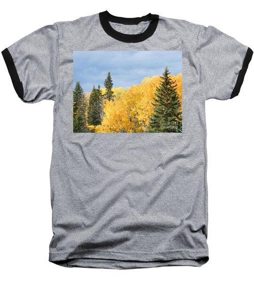 Fall Near Ya Ha Tinda Baseball T-Shirt