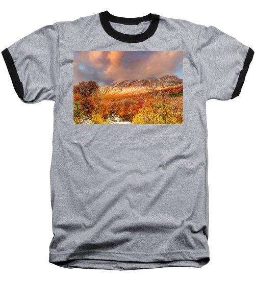 Fall On Display Baseball T-Shirt