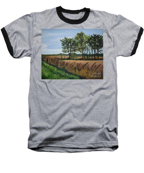 Fall On Douglas Road Baseball T-Shirt