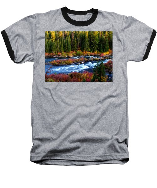 Fall On The Deschutes River Baseball T-Shirt