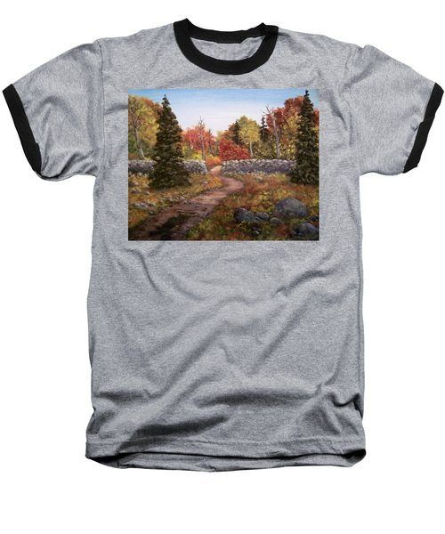 Fall Path Baseball T-Shirt