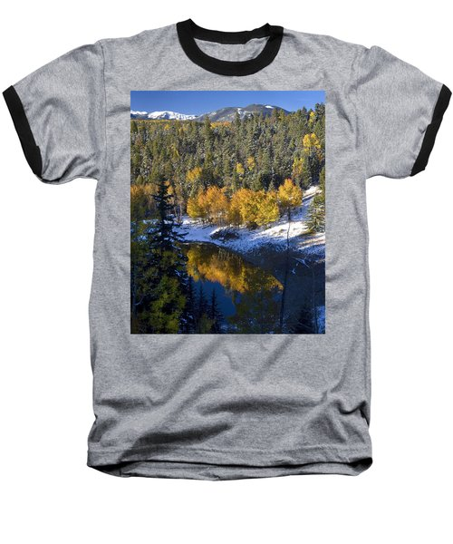Fall Reflections On Bobcat Pass Baseball T-Shirt
