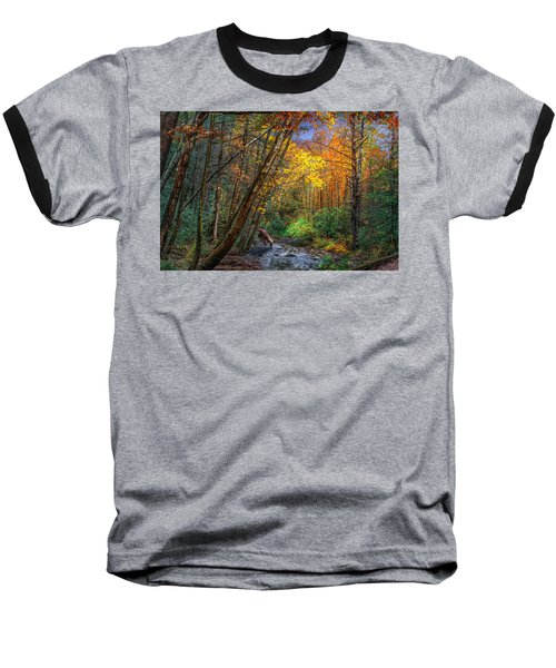 Fall Solitude Baseball T-Shirt