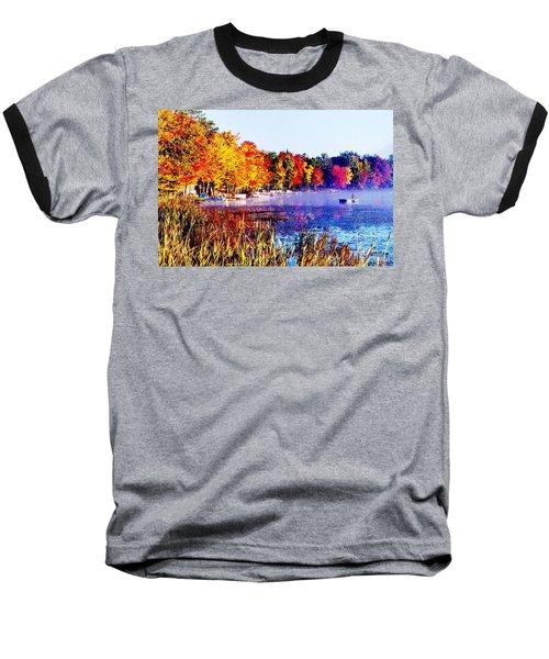 Baseball T-Shirt featuring the photograph Fall Splendor Of Mid-michigan by Daniel Thompson
