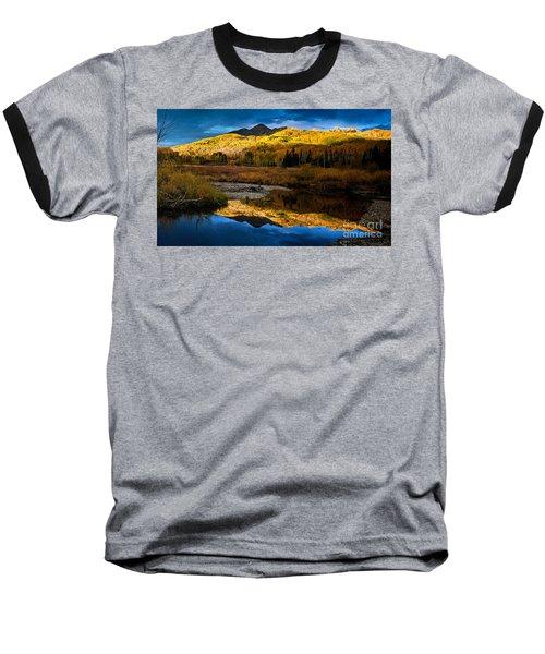 Fall Sunset Baseball T-Shirt
