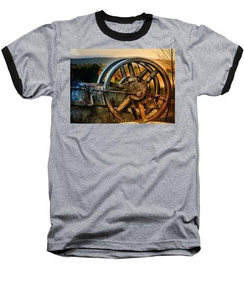 Fall Through The Wheels Baseball T-Shirt