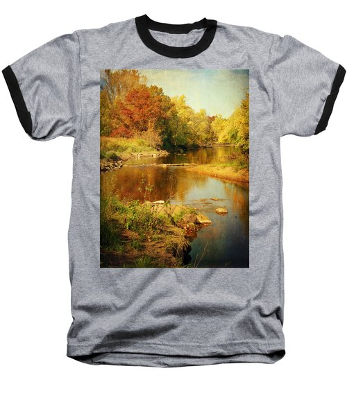 Fall Time At Rum River Baseball T-Shirt