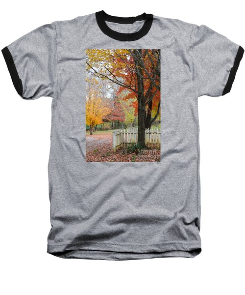 Fall Tranquility Baseball T-Shirt