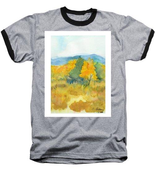 Fall Trees Baseball T-Shirt by C Sitton