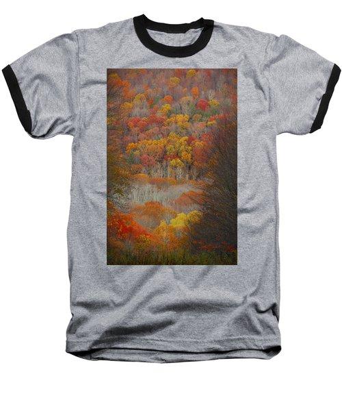 Baseball T-Shirt featuring the photograph Fall Tunnel by Raymond Salani III
