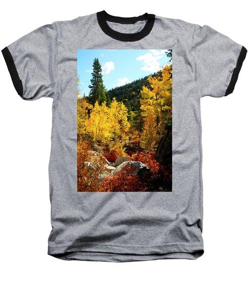 Fall2 Baseball T-Shirt by Jeremy Rhoades