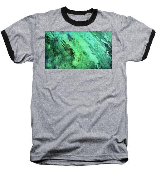 Baseball T-Shirt featuring the mixed media Fallen by Ally  White