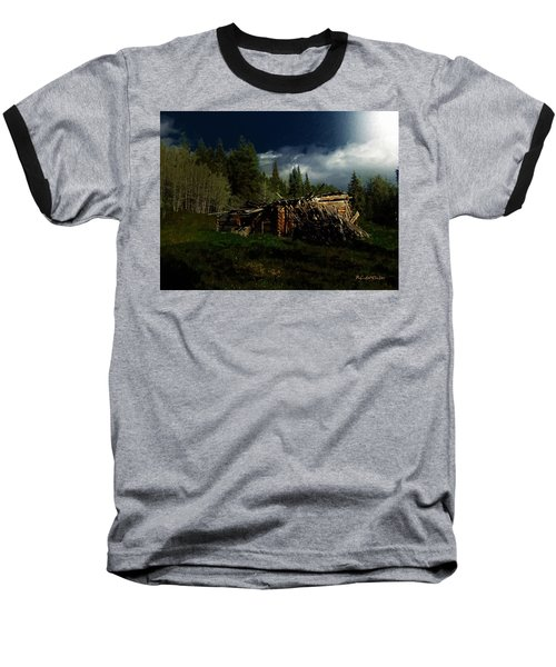 Fallen In Baseball T-Shirt by RC DeWinter
