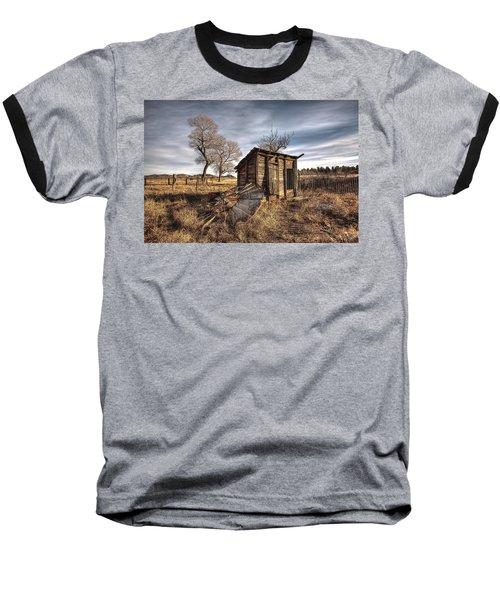 Fallen Windmill Baseball T-Shirt