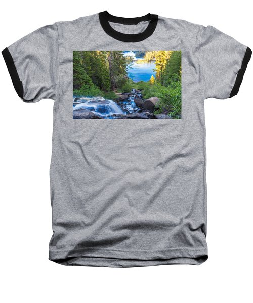 Falling Down To The Lakes Baseball T-Shirt