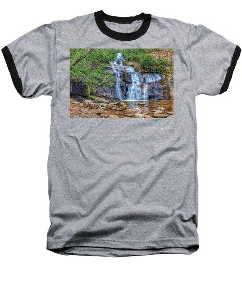 Falling From Mount Mitchell Baseball T-Shirt