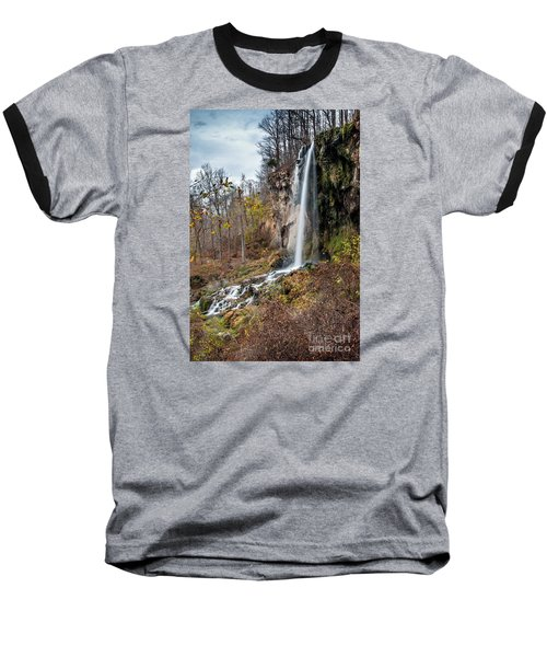 Falling Springs Fall Baseball T-Shirt