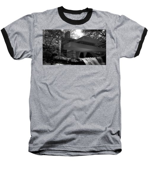 Falling Waters Baseball T-Shirt by Louis Ferreira