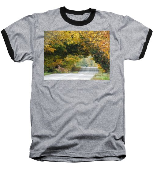 Falls Archway  Baseball T-Shirt by Brenda Brown