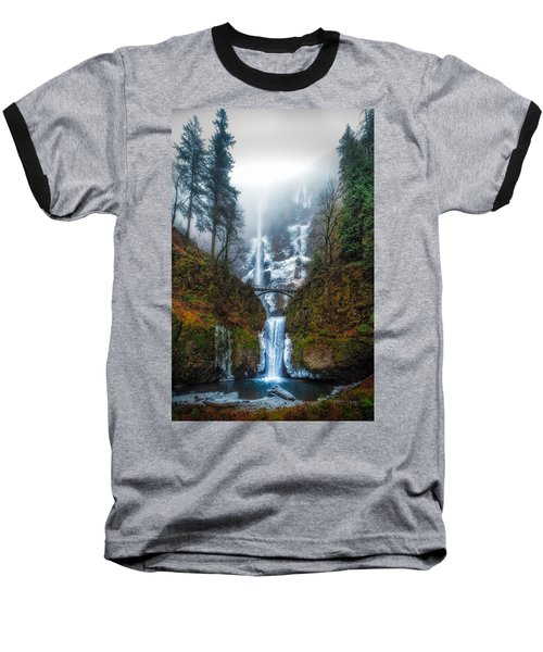 Falls Of Heaven Baseball T-Shirt