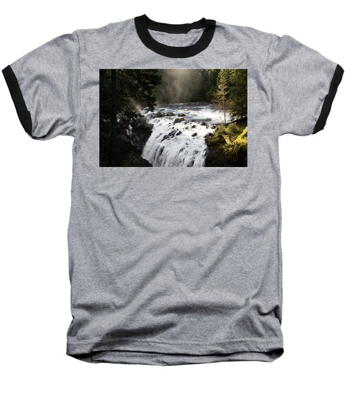 Waterfall Magic Baseball T-Shirt