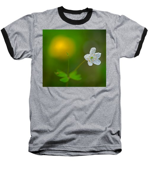 False Rue Anemone Baseball T-Shirt