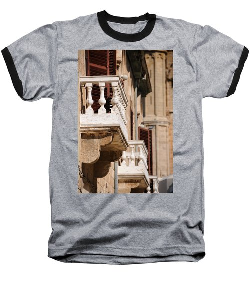 Famagusta Balconies Baseball T-Shirt