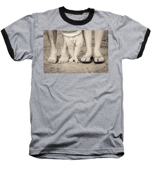 Family Feets Baseball T-Shirt
