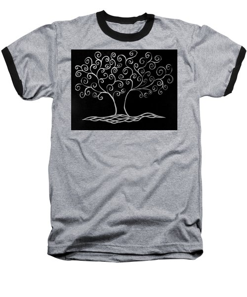 Family Tree Baseball T-Shirt by Jamie Lynn
