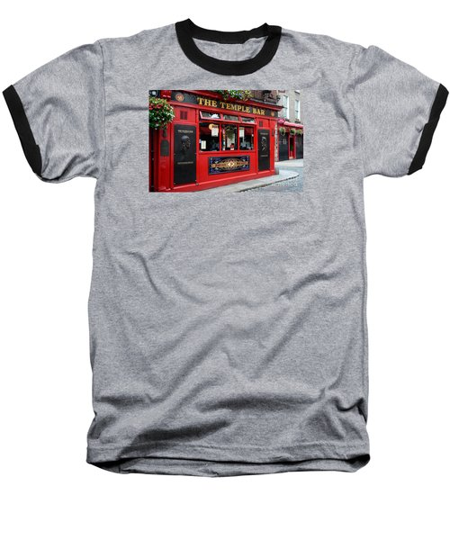 Famous Temple Bar In Dublin Baseball T-Shirt