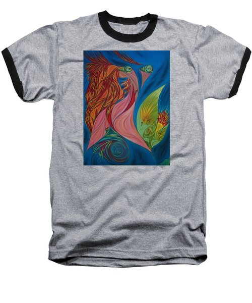 Far Away Eyes Baseball T-Shirt