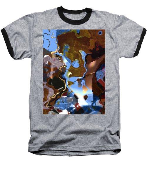 Baseball T-Shirt featuring the digital art Fargo by Richard Thomas