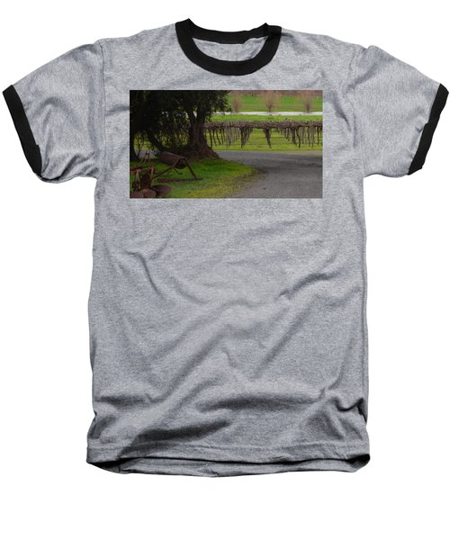 Farm And Vineyard Baseball T-Shirt