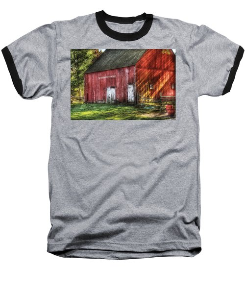 Farm - Barn - The Old Red Barn Baseball T-Shirt