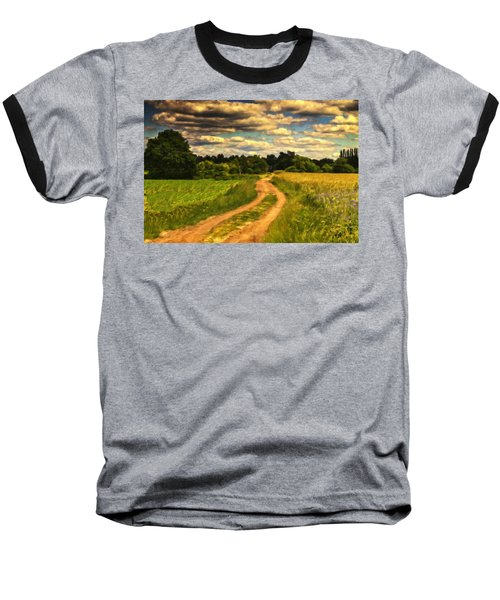 Farm Country Germany Ger3700 Baseball T-Shirt