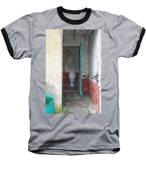 Farm Facilities Baseball T-Shirt by HEVi FineArt