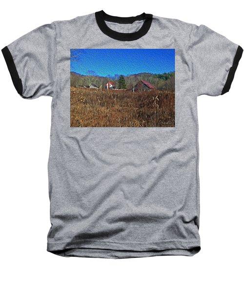 Farm House 2 Baseball T-Shirt by Tom Culver