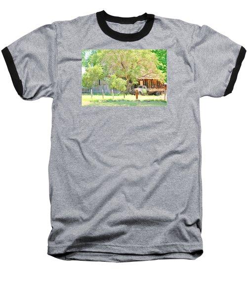 Baseball T-Shirt featuring the photograph Farm Living by Marilyn Diaz