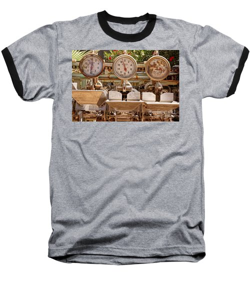 Farm Scales Baseball T-Shirt