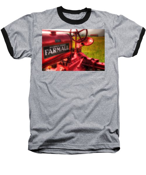 Farmall Morning Baseball T-Shirt