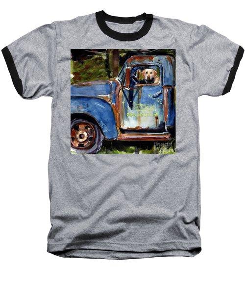Farmhand Baseball T-Shirt by Molly Poole