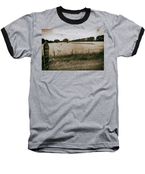 Baseball T-Shirt featuring the photograph Farming by Howard Salmon