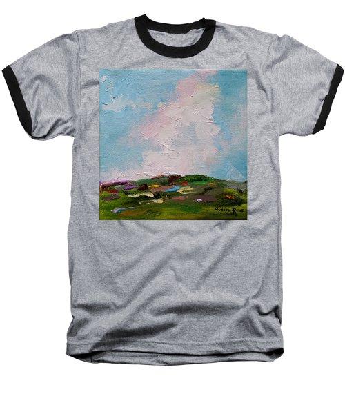 Farmland Iv Baseball T-Shirt by Judith Rhue