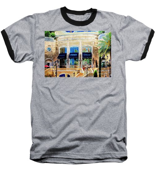 Fashion Vegas Style Baseball T-Shirt