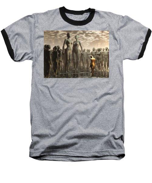 Baseball T-Shirt featuring the digital art Fate Of The Dreamer by John Alexander